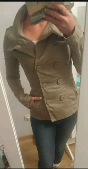 Brauner Trenchcoat Jacke H&M