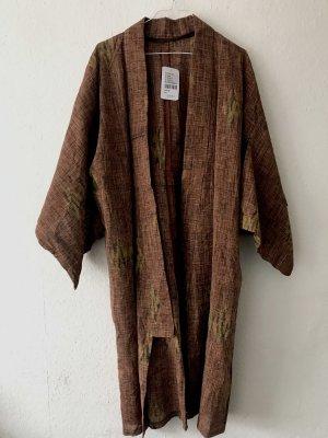 brauner vintage kimono [NEU+ ETIKETT]