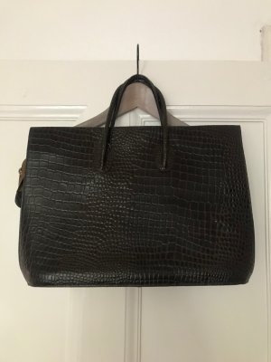 Business Bag dark brown leather