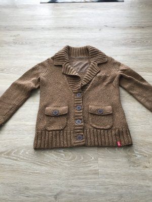 brauner warmer Cardigan von edc