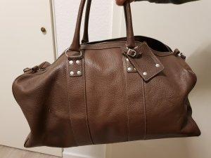 Tchibo / TCM Sac weekender brun cuir