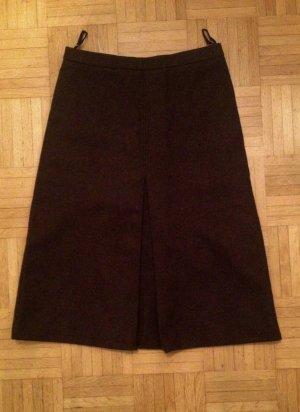0039 Italy Wollen rok donkerbruin Scheerwol