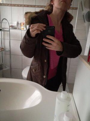 Brauner Woolrich Winterparka