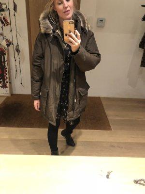 Woolrich Veste d'hiver taupe-gris brun