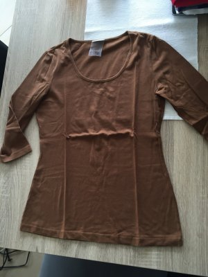 Braunes 3/4 arm Tshirt