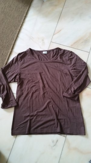 Braunes 3/4-Shirt