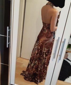 Braunes Abendkleid