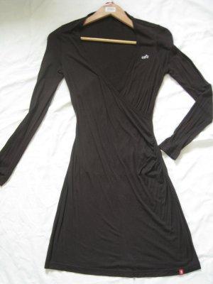 Esprit T-shirt jurk donkerbruin