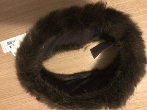 Braunes Fellstirnband (Unecht)