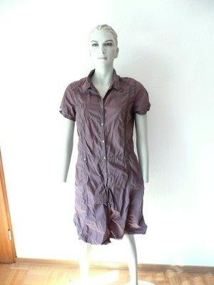 braunes Hemdblusenkleid von Sandwich_ Gr. 40