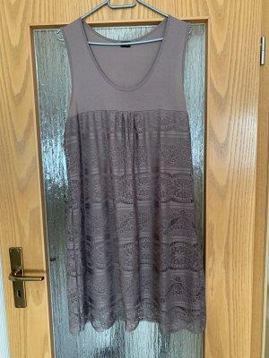 Bodyflirt Hooded Dress grey brown