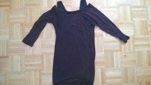 Braunes Kleid von Vixxsin mit Spitze am Rücken