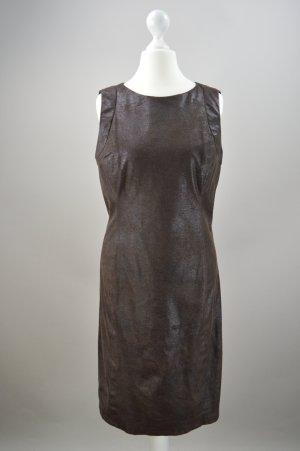 Braunes Kleid Zara Größe S Wildlederoptik