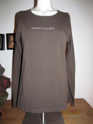 Braunes Langarmshirt von Tommy Hilfiger