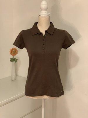 Braunes Polo Shirt