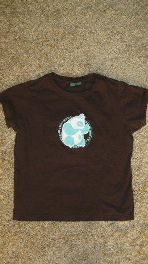braunes ragwear t-shirt