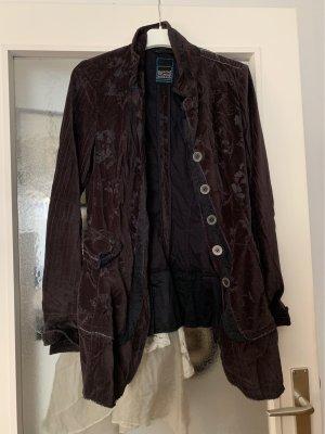Gilet de costume brun noir