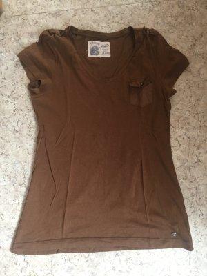 Braunes Shirt, S.Oliver