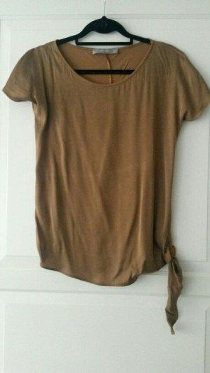 braunes Shirt von Hallhuber