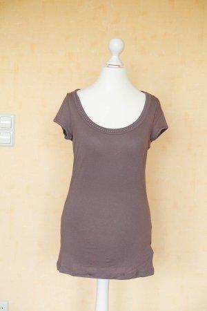 braunes Shirt von Orsay