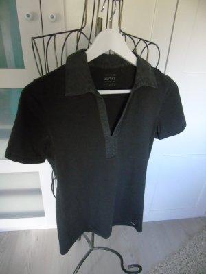 braunes T-Shirt von Esprit, Gr. S