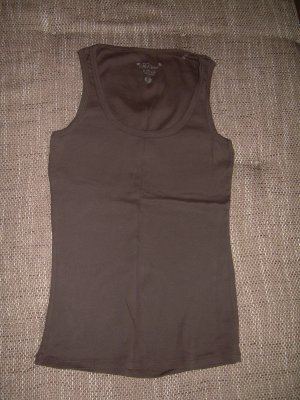 Fishbone Camiseta sin mangas marrón-marrón oscuro