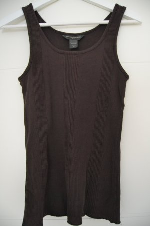 Banana Republic Heritage  Tank Top black brown cotton