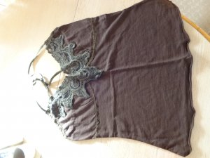 Only Lace Top brown polyester