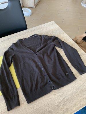s.Oliver Gilet tricoté brun