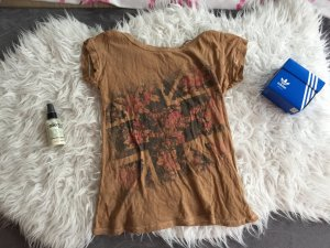 Zara Camisa color bronce