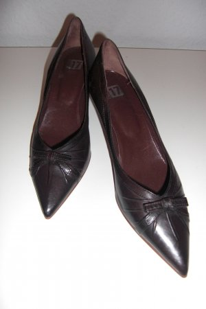 Braunrote Pumps* Pointed Toe*NEU!