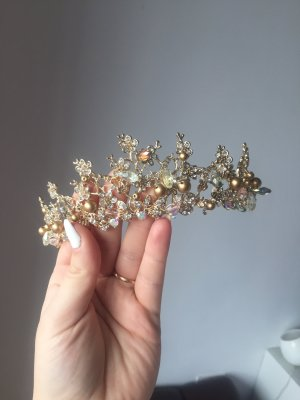 Hair Accessory gold-colored