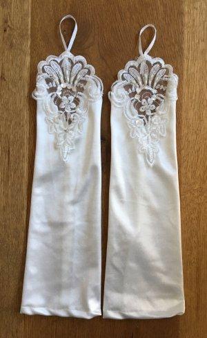 Suspenders natural white-white