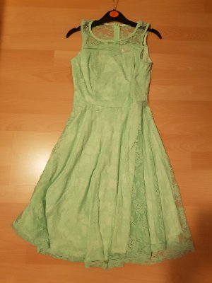 Vestido de baile turquesa