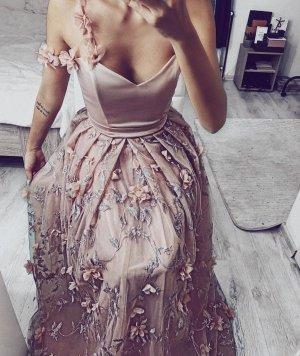 Brautjungferkleid zu VK genäht