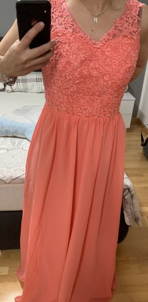 Ball Dress salmon