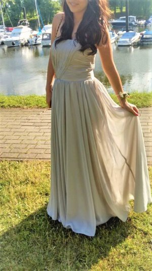 Brautjungfern-Kleid // Maxikleid // Taupe // Gr. M // Light in the Box