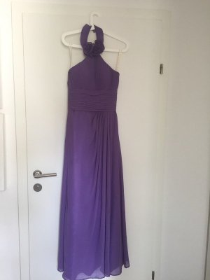 Corsage Dress purple