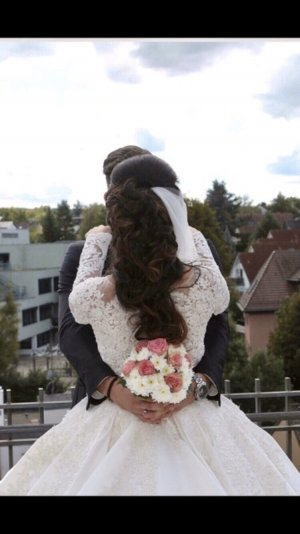 Prestige Wedding Dress white-cream