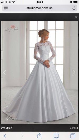 Robe de mariée blanc cassé-blanc