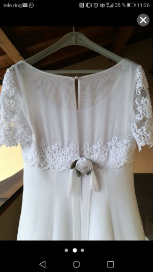 Vestido de novia blanco Poliéster