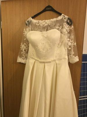 Mina UK Vestido de novia blanco-blanco puro
