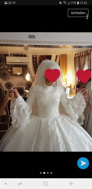 cinderella Vestido de novia blanco