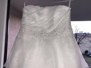 Robe de mariée blanc polyester