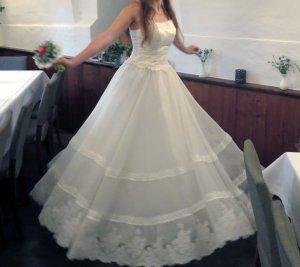 Wedding Dress natural white-white polyester