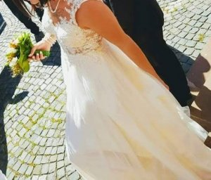 Valentino Robe de mariée blanc