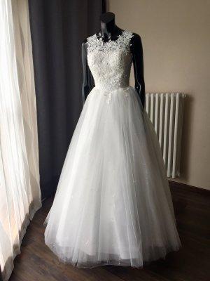 Brautkleid A-Linie/ Prinzessin - Ivory - Gr. 34/36 - Neu
