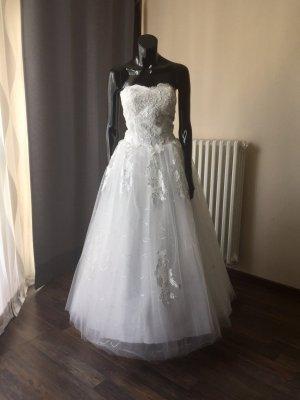 Brautkleid A-Linie/Prinzessin - Ivory - Gr. 38 - Schnürung - Neu