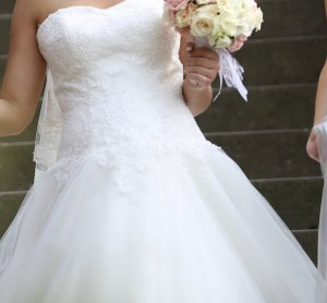 Brautkleid A-Linie von Dorothy Perkins , Größe 36