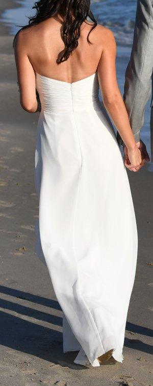 Brautkleid / Abendkleid, ivory/weiß, 32/34 trägerlos, top Zustand